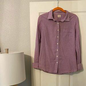 Button up J. crew shirt